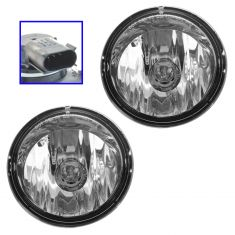03-09 Hummer H2 Front Bumper Mounted Daytime Running/ Fog/ Driving Light Pair (GM)