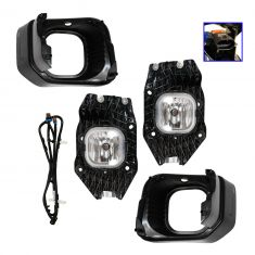 11-12 Ford F250-F550 Super Duty XLT Fog Driving Light Dealer Installed Kit