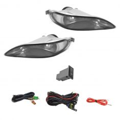 02-04 Camry; 02-03 Solara; 05-08 Crlla Addon Smoke Fog Light Pair w Install Kit