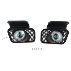 03-06 Avalanche (w/o Cladding); 03-07 Silverado Perf Clear Halo Fog Light Pair