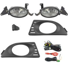 05-06 Acura RSX Add-on Clear Lens Fog Light Pair w/ Installation Kit