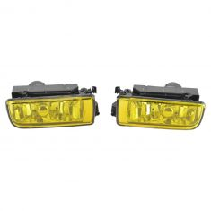 92-99 BMW 3 Series Performance Yellow Lens Fog Light Pair