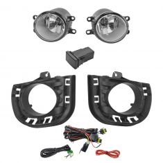 14-15 Scion tC Add-on Clear Lens Fog Light Pair w/ Installation Kit