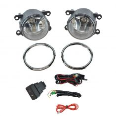 12-15 Honda Pilot Add-on Clear Lens Fog Light Pair w/ Installation Kit