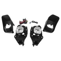 11-16 Ford Super Duty Truck Add-on Clear Lens Fog Light Pair w/ Installation Kit