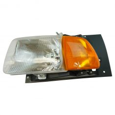 97-98 Ford A, AT HD Truck; 99-09 Sterling A, AT HD Truck Series Headlight w/Parking Light Assy LH