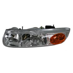 2000-02 Saturn S Series (4 Door Sedan and Station Wagon) Composite Headlight Combo LH
