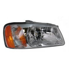 2000-02 Hyundai Accent Composite Headlight RH