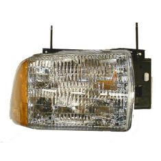 1995-97 Chevy S10 Blazer Composite Headlight Combo RH