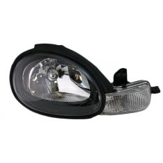 2000-02 Dodge Neon Composite Headlight (w black bezel) RH