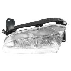 1993-97 Geo Prizm Composite Headlight LH
