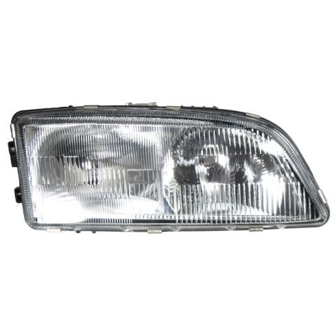How To Install Replace Headlight and Bulb 98-00 Volvo C70 ...