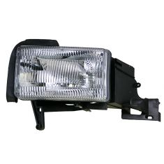 1994-01 Dodge Pickup (wo Sport Pkg) Composite Headlight w/o Side Marker LH