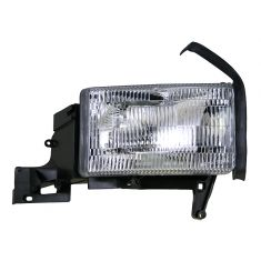 1994-01 Dodge Pickup (wo Sport Pkg) Composite Headlight w/o Side Marker RH