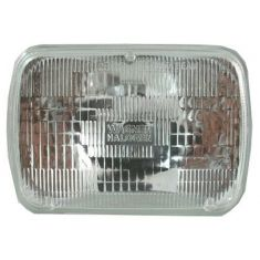 Rectangle Sealed Beam Headlight High & Low Beam