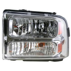 2005-07 Ford F250 F350 F450 F550 Super Duty Head Lamp Drivers Side