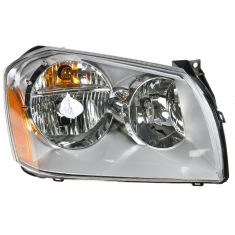 2005-08 Dodge Magnum Headlight w/Chrome Background RH