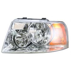 2003-04 Ford Expedition W/Chrome Headlight Driver Side