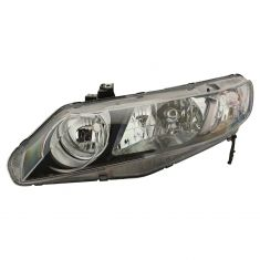 06-10 Honda Civic Hybrid; 09-10 Civic Sedan Headlight LH