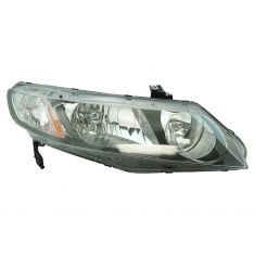 06-10 Honda Civic Hybrid; 09-10 Civic Sedan Headlight RH