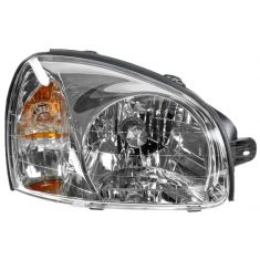 2003-06 Hyundai Santa Fe Headlight Passenger Side