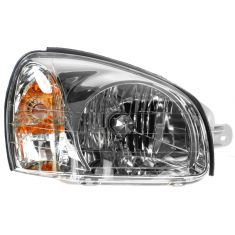 2001-03 Hyundai Santa Fe Headlight Passenger Side