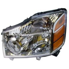 04-07 Nissan Armada Titan Headlight Driver Side