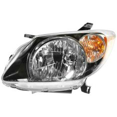 2003-04 Pontiac Vibe Headlight Driver Side