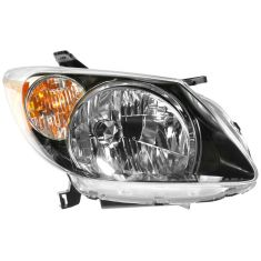 2003-04 Pontiac Vibe Headlight Passenger Side
