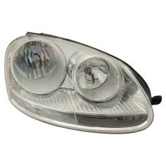 05-10 Volkswagen Jetta, Golf, Rabbit Halogen Headlight RH
