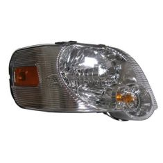 2006-09 Ford Explorer: 2007-09 Sport Trac w/Clear Background Headlight RH