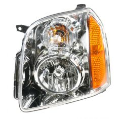 2007 GMC Yukon Yukon XL Headlight Driver Side