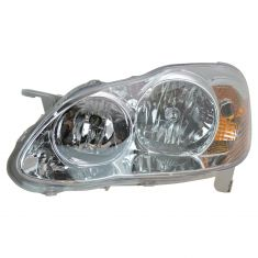 05-08 Toyota Corolla Headlight for CE & LE Models LH
