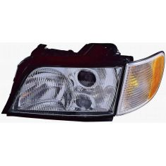 1995-98 Audi A6 S6 Wagon Headlight Driver Side