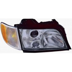 1995-98 Audi A6 S6 Wagon Headlight Passenger Side