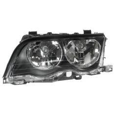 99-01 BMW 320i 323i 325i 328i 330i Headlight Halogen Sedan & Wagon LH