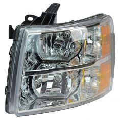 07 Chevy Silverado 1500, 2500, 3500 New Body; 07-13 1500; 07-14 2500, 3500 Headlight LH
