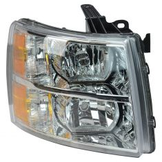 07 Chevy Silverado 1500, 2500, 3500 New Body; 07-13 1500; 07-14 2500, 3500 Headlight RH