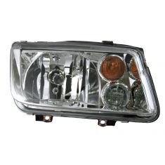 02-05 VW Jetta Headlight with Fog Light RH