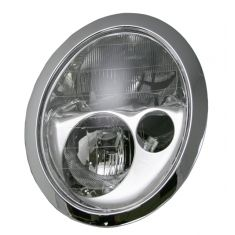 02-04 BMW Mini Cooper (W/O HL WASHERS HALGN) Headlight
