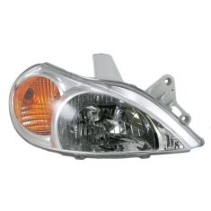 01-02 Kia Rio Sedan Headlight RH