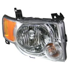 08-09 Ford Escape Hybrid Headlight RH