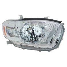 2008-10 Toyota Highlander Headlight RH (Base Limited)