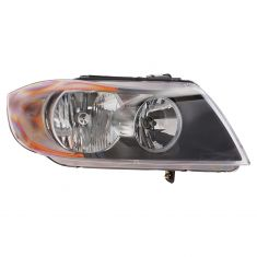 06-08 BMW 3 Series Sdn & SW Halogen Headlight RH