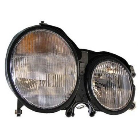 Mercedes Benz E320 E430 Headlight Passenger Side