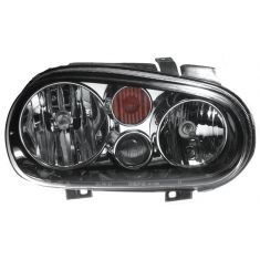 2002-07 VW Golf w/FL Headlight (Chrme & Black) RH