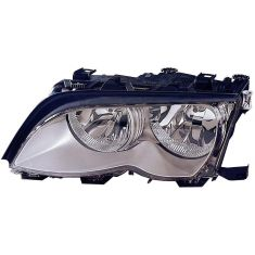 2002-05 BMW 3 Series SDN & SW Halogen Headlight (w/Chrome) LH