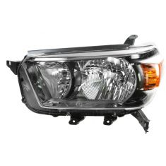 2010-11 Toyota 4Runner Headlight w/Smoked Bezel LH