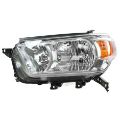 2010-11 Toyota 4Runner Headlight (w/o Smoked) Bezel LH