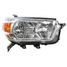 2010-11 Toyota 4Runner Headlight (w/o Smoked) Bezel RH